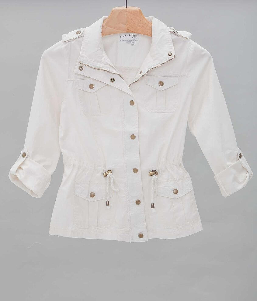Ashley Canvas Jacket front view