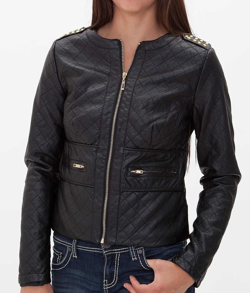 Ashley Quilted Jacket front view