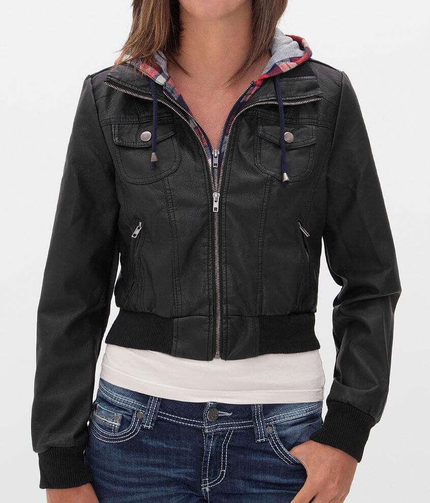 Ashley Distressed Jacket front view