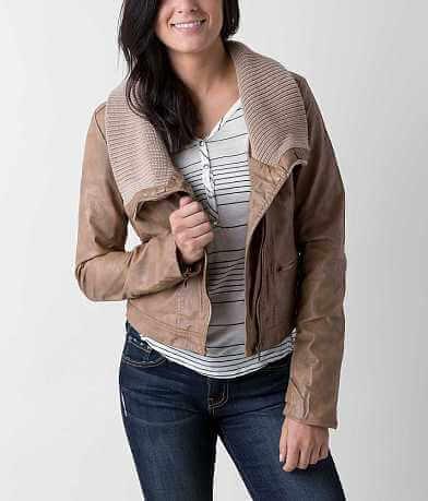 Ashley Faux Leather Jacket