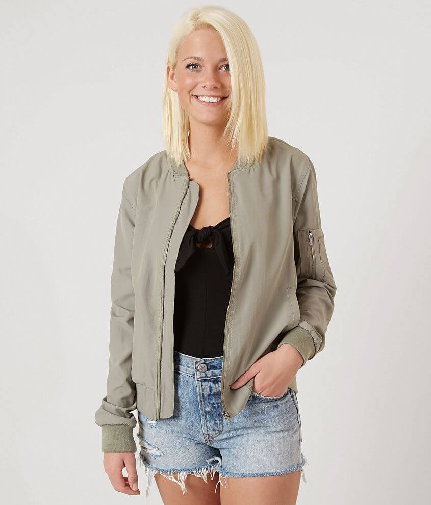 Ashley Bomber Jacket front view