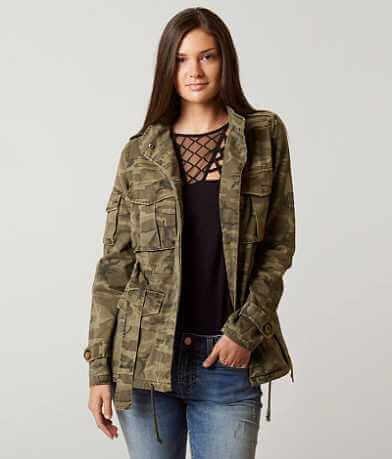 BKE Camo Canvas Jacket