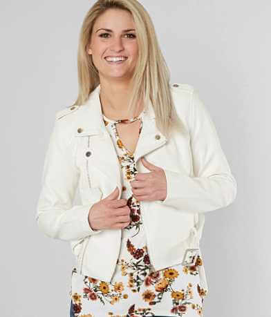 Ashley Asymmetric Moto Jacket