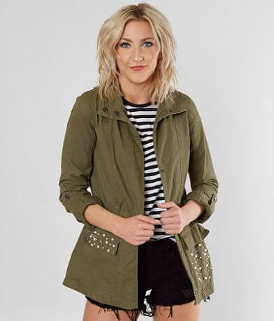 Ashley Embellished Anorak Jacket