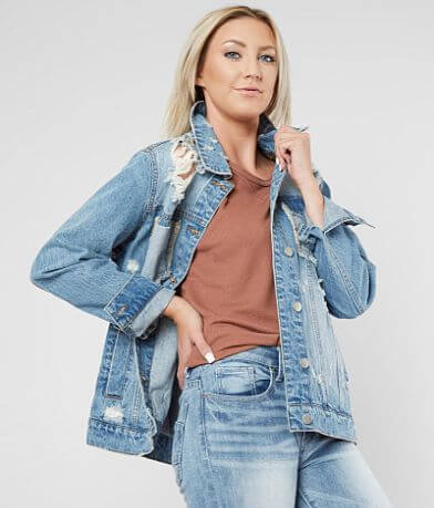 Daytrip Destructed Denim Jacket