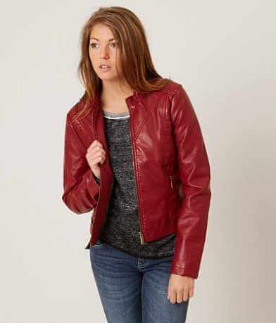 Daytrip Faux Leather Jacket