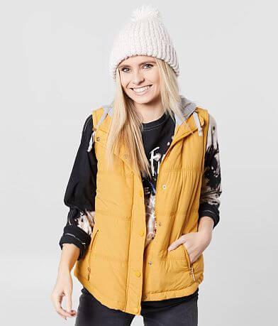 Ashley Hooded Puffer Vest