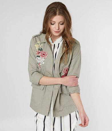 BKE Floral Embroidered Jacket