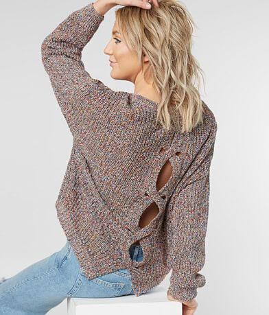 Daytrip High Low Hem Sweater