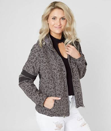 Ashley Lightweight Leopard Jacket