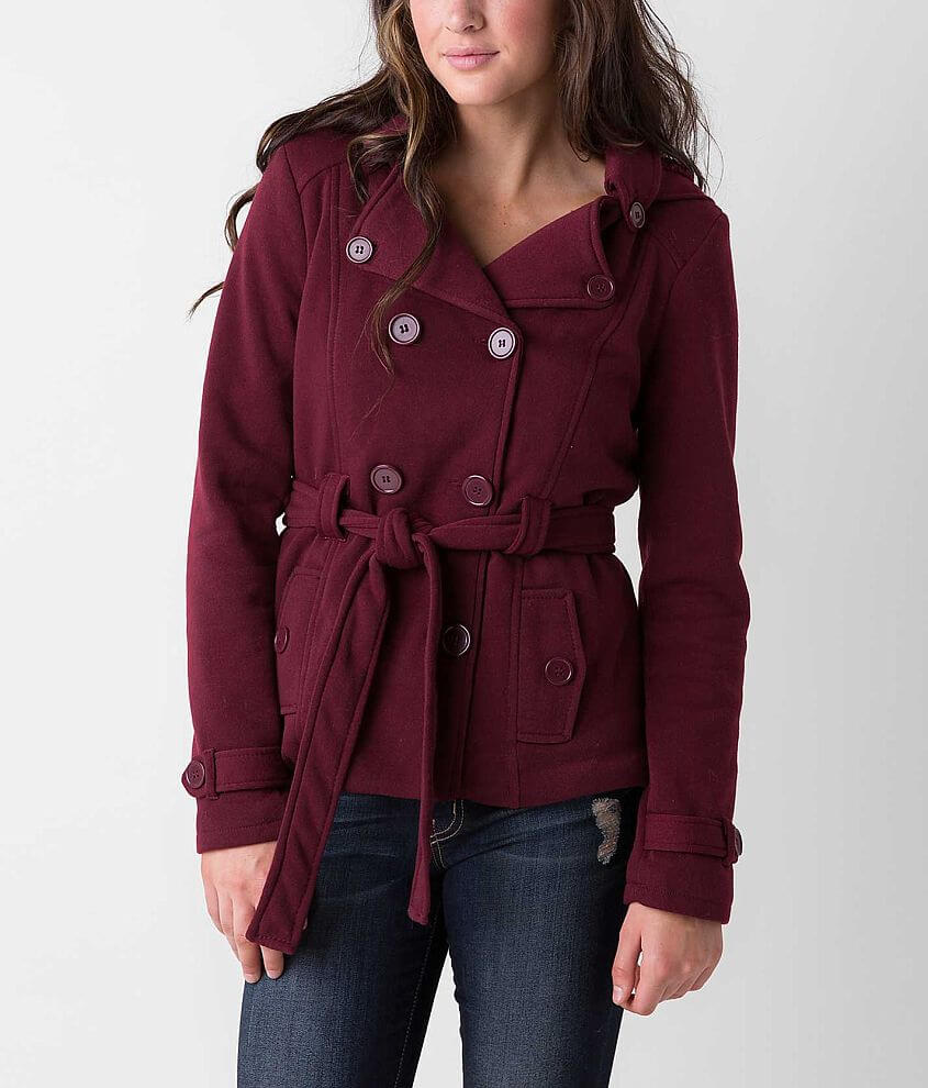 Ashley Solid Coat front view