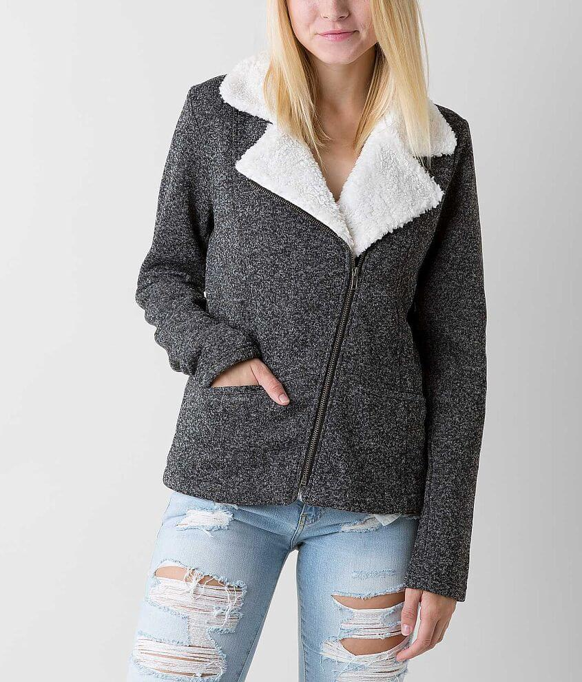 Ashley Marled Coat front view