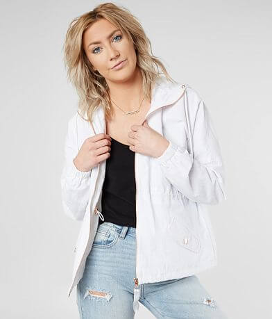Daytrip Drop Shoulder Hooded Jacket