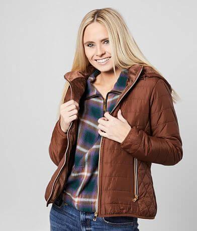 Ashley Hooded Puffer Jacket