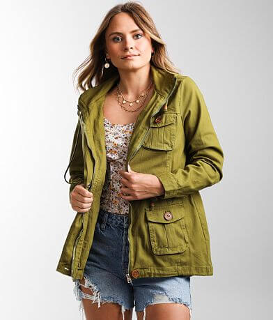 1 Sunset Lane Lightweight Hooded Jacket