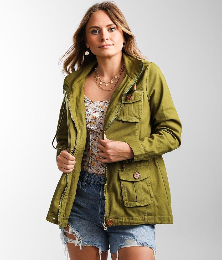 1 Sunset Lane Lightweight Hooded Jacket front view
