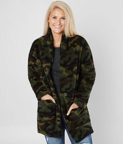 Ashley Oversized Camo Jacket