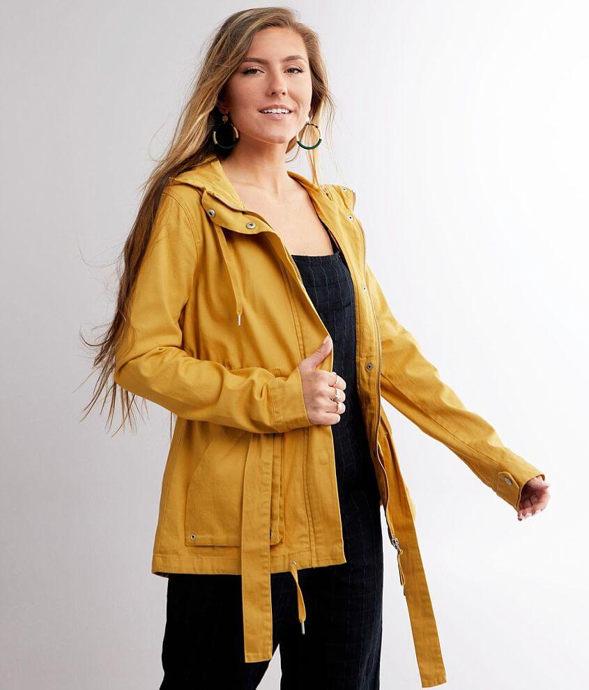 BKE Lightweight Hooded Jacket front view