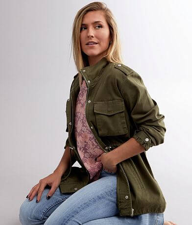 Daytrip Lightweight Military Jacket