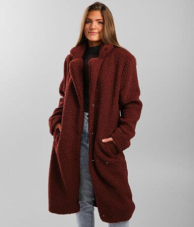 Ashley Sherpa Dress Coat