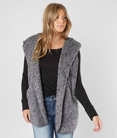 Ashley Hooded Fleece Vest