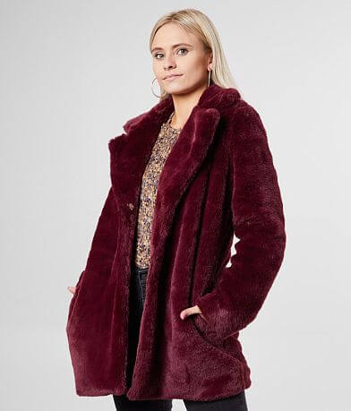 Ashley Faux Fur Collared Jacket