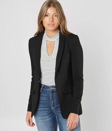Stoosh Woven Blazer Jacket