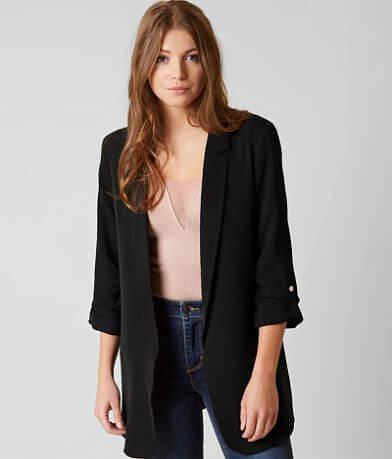 Stoosh Chiffon Blazer Jacket