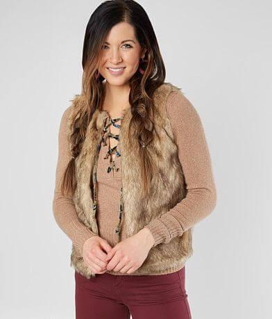 Glamsia Faux Fur Vest