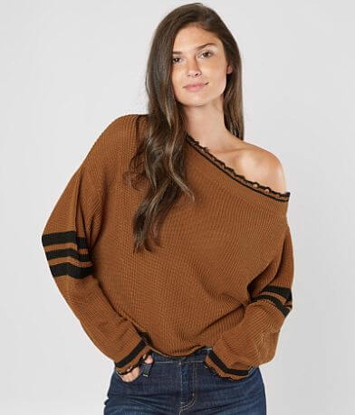 Daytrip Off The Shoulder Sweater