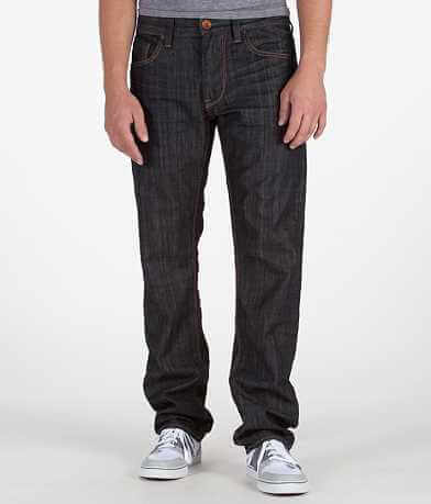 Union Double Stitch U Straight Stretch Jean