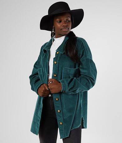 Gilded Intent Corduroy Shirt Jacket