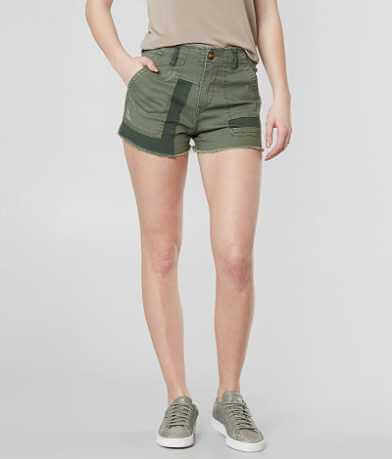 Gilded Intent High Rise Aubree Stretch Short