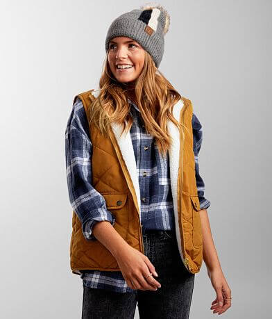 BKE Quilted Reversible Puffer Vest
