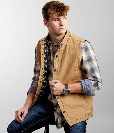 Departwest Washed Canvas Vest