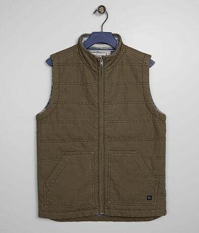 Boys - Departwest Washed Canvas Vest
