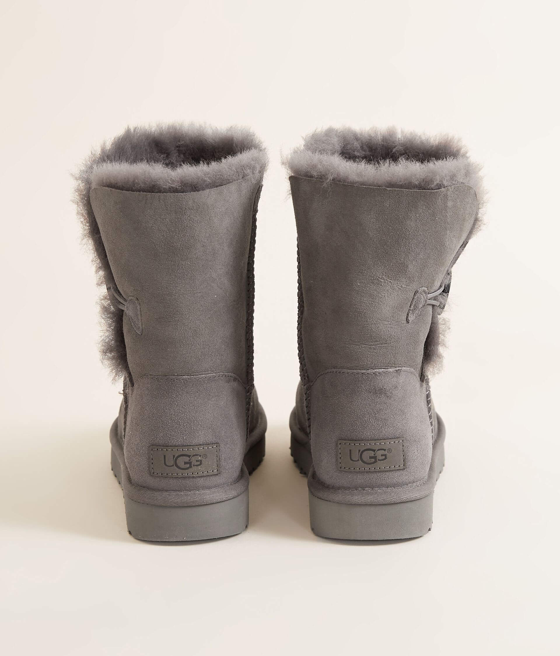 db854d85c24 UGG® Bailey Leather Boot - Women's Shoes in Grey | Buckle