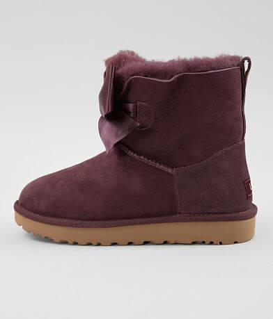 UGG® Gita Bow Leather Mini Boot