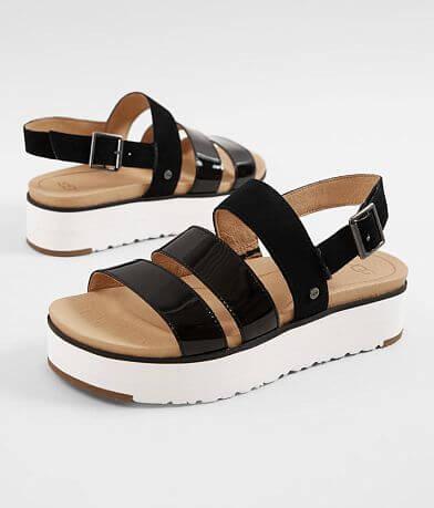 UGG® Braelynn Leather Flatform Sandal