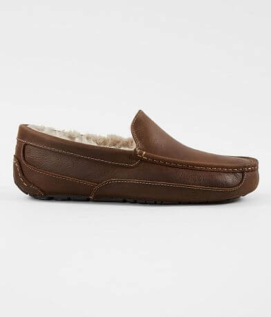 UGG® Ascot Leather Loafer Slipper