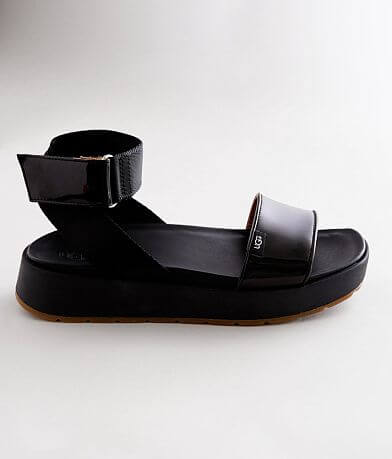 UGG® Lennox Leather Flatform Sandal
