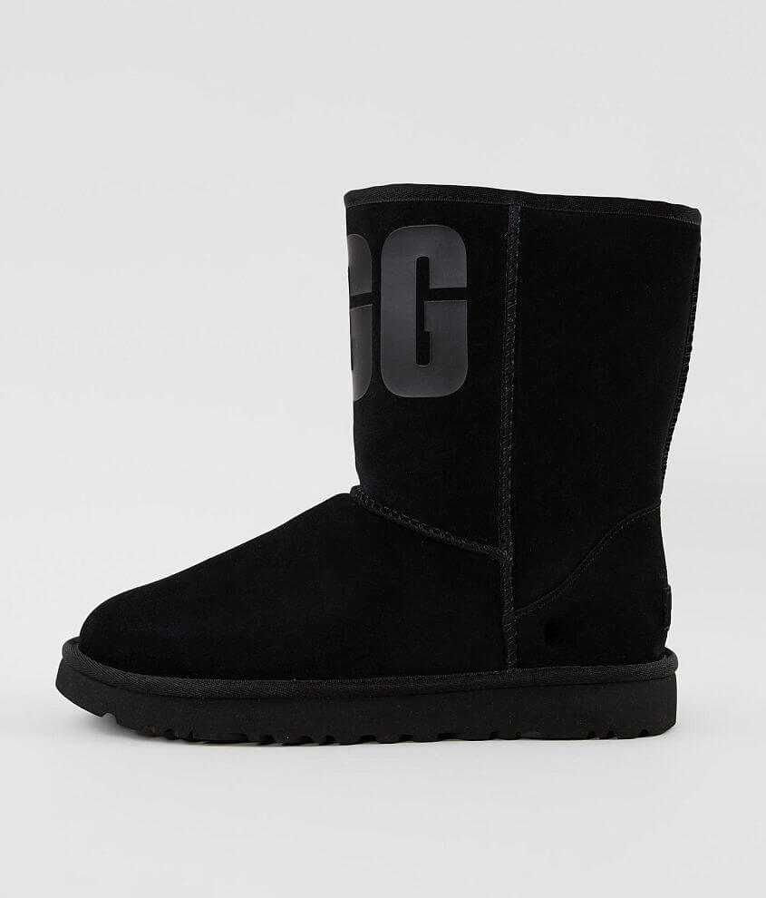 UGG® Classic Short Suede Boot front view