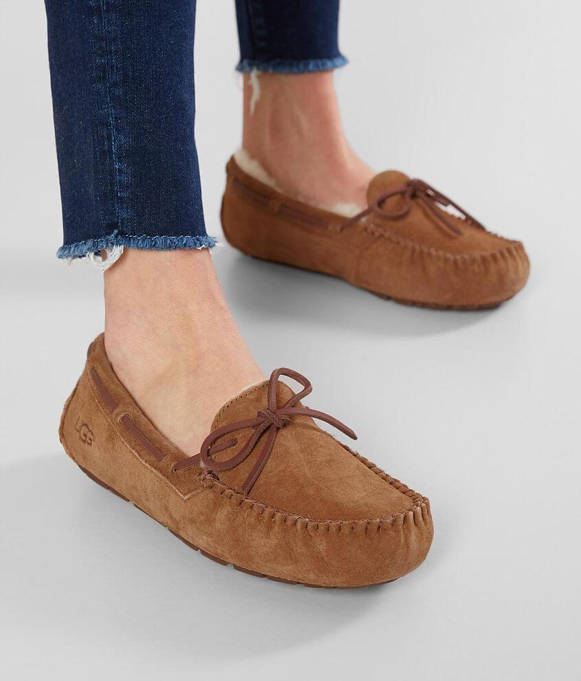 8ab40e7e542 UGG® Dakota Suede Slipper - Women's Shoes in Chestnut | Buckle
