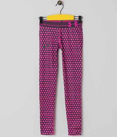 Girls - Under Armour® Printed Active Tights
