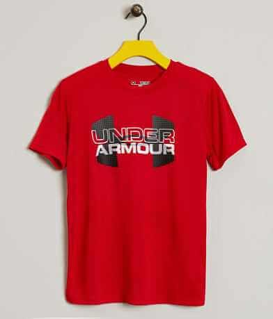 Boys - Under Armour® Big Logo Hybrid T-Shirt