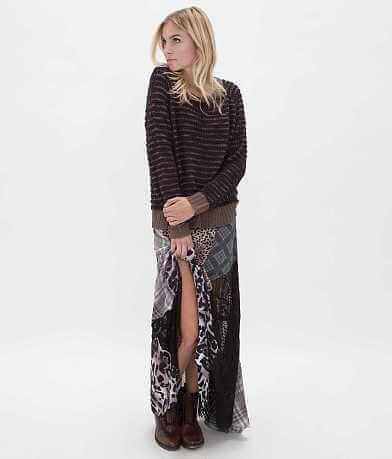 Gimmicks by BKE Pieced Maxi Skirt