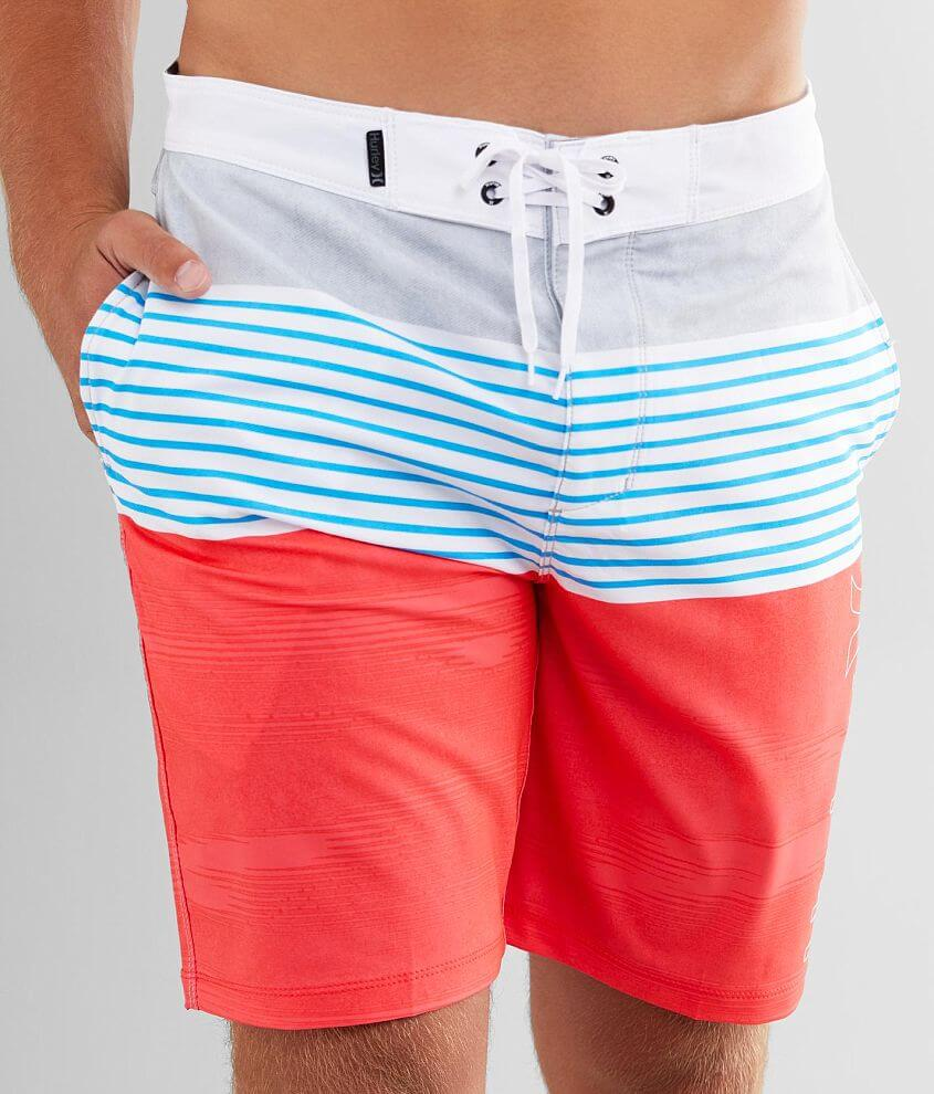 Hurley Phantom Trace Stretch Boardshort front view