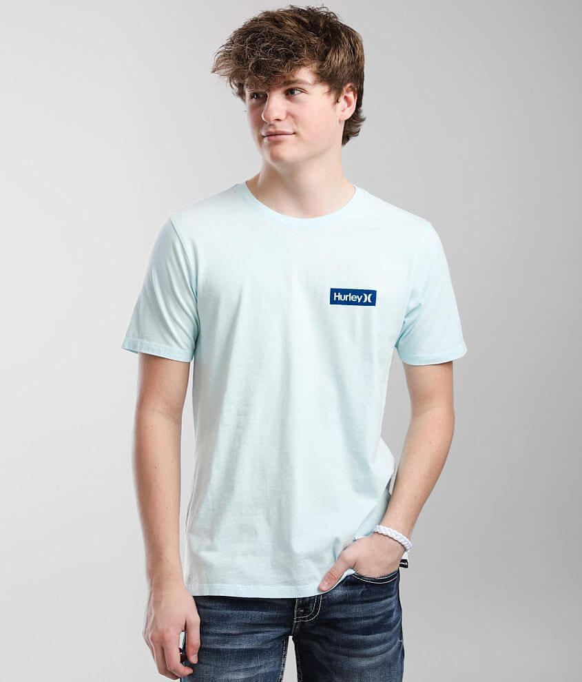 Hurley One & Only Boxed T-Shirt front view