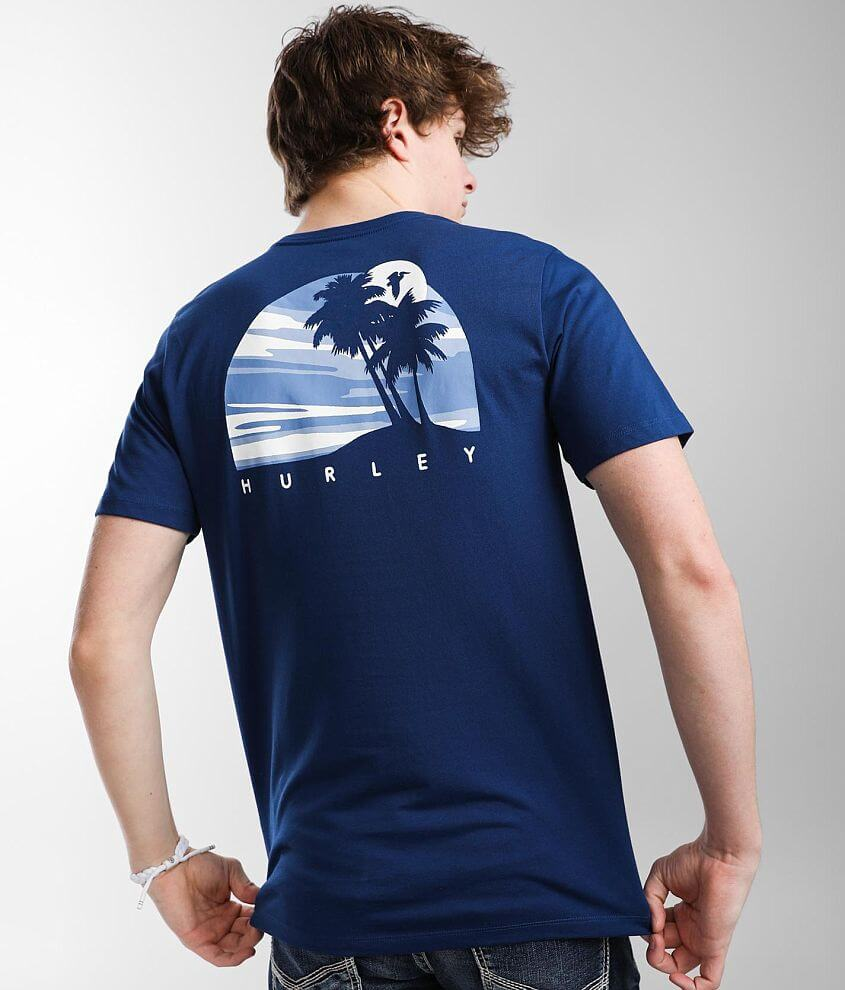 Hurley Everyday Explorer Piccupalms T-Shirt front view