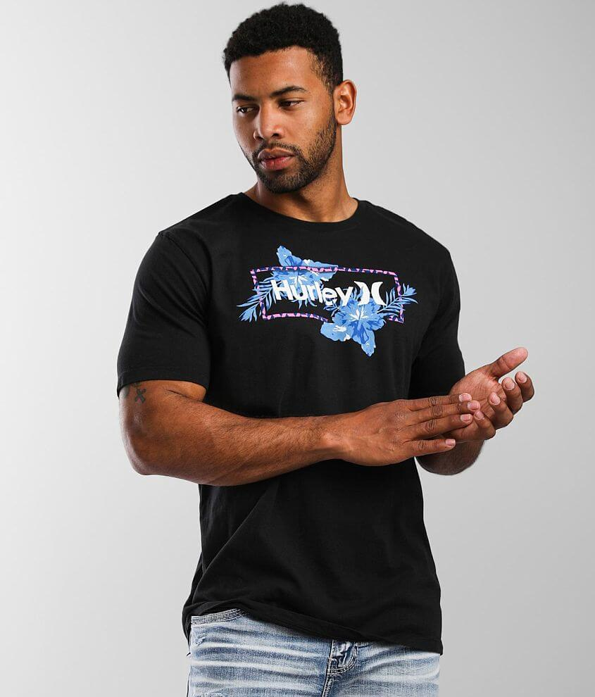 Hurley Split Flower T-Shirt front view